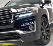 Аэродинамический обвес Double Eight на Тойоту Ленд Крузер (Toyota Land Cruiser) 200 2016+