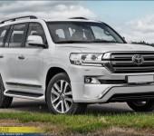 Аэродинамический обвес Executive на Тойоту Ленд Крузер (Toyota Land Cruiser) 200 2015+