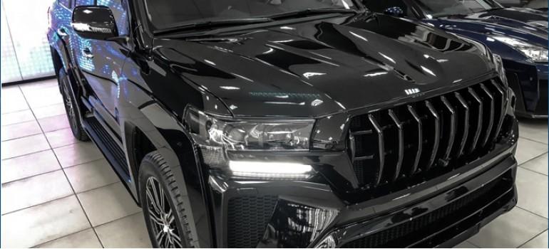 Аэродинамический обвес Hakama на Тойоту Ленд Крузер (Toyota Land Cruiser) 200 2016+