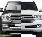 Комплект рестайлинга Тойоты ( Toyota ) Land Cruiser 200 2007-2015 годов выпуска в авто 2016 модельного года.