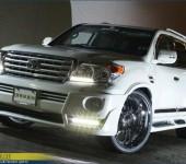 Аэродинамический обвес Branew для Тойоты ( Toyota ) Land Cruiser 200 рестайлинг