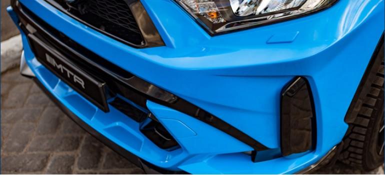 Аэродинамический обвес MTR на Toyota RAV-4 (XA50)