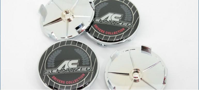 Заглушки AC Schnitzer центральных отверстий в колесных дисках для BMW под диаметр 62мм
