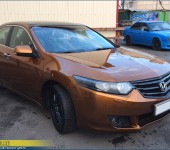 Покраска Хонды Аккорд (Honda Accord) Пласти Дипом