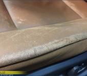 Ремонт кожи в салоне БМВ (BMW) X5 E70