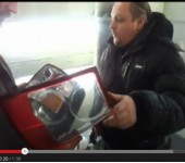Короткое видео - тюнинг фонарей Range Rover