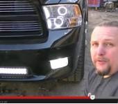 Короткое видео - Тюнинг оптики на Dodge RAM