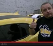 Короткое видео - Chevrolet Camaro автозвук
