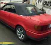Замена кабриолетного верха на Ауди (Audi) 90