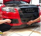 Покрытие защитной полиуретановой пленкой зон риска на Ауди (Audi) RS4