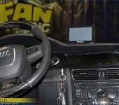 Нанесение ( перетяжка ) настоящего 100% карбона на панели салона Ауди ( Audi ) A4