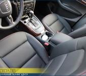 Перетяжка салона на Ауди ( Audi ) Q5 в натуральную автомобильную кожу выделки Наппа ( Nappa ).