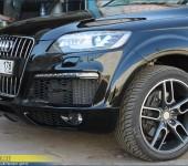 Профессиональная установка и покраска аэродинамического обвеса Caractere на новую Ауди ( Audi ) Q7