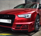 Комплексный тюнинг-проект Audi S5 Voltron
