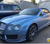 Ремонт складной крыши кабриолета Бентли (Bentley) Continental GT