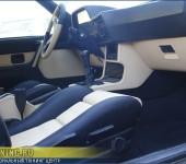 Перетяжка салона в кожу в BMW 628 E24