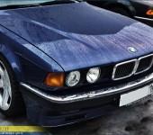 Полная реставрация кузова BMW 750 E32 и установка аккуратного обвеса