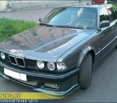 Установка аэродинамического обвеса на BMW 735 E32