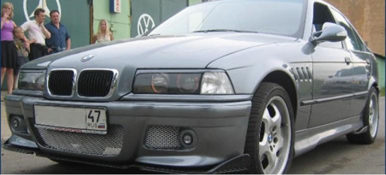 BMW 320 E36 - Ночной странник