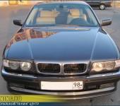 Целиковая покраска BMW E38
