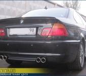 Разведение ( разводка ) глушителя на две стороны на BMW E46 330CDi