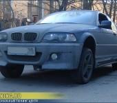 Установка пневмоподвески на BMW 328 E46 Coupe