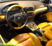 Ремонт кабриолетного верха на БМВ (BMW) M3 E46