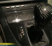 Покрытие настоящим 100% карбоном элементов салона в БМВ ( BMW ) E53 X5