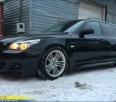 Установка и покраска М-пакета на БМВ ( BMW ) E61
