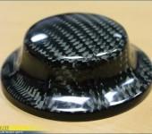 Перетяжка ( покрытие ) настоящим 100% карбоном ручки управления i-Drive на БМВ ( BMW ) E63