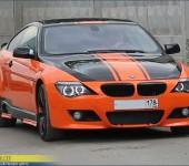 Покраска БМВ ( BMW ) E63 и установка обвеса Хаманн ( Hamann )
