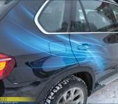 Нанесение аэрографии на BMW X5 E70
