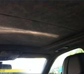 Перетяжка потолка и стоек в алькантару на БМВ ( BMW ) E70 X5