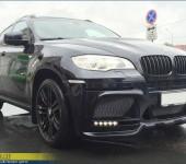 Установка переднего бампера Хаманн (Hamann) M на БМВ (BMW) X6 E71