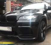 Установка и покраска обвеса на БМВ (BMW) X6 E71