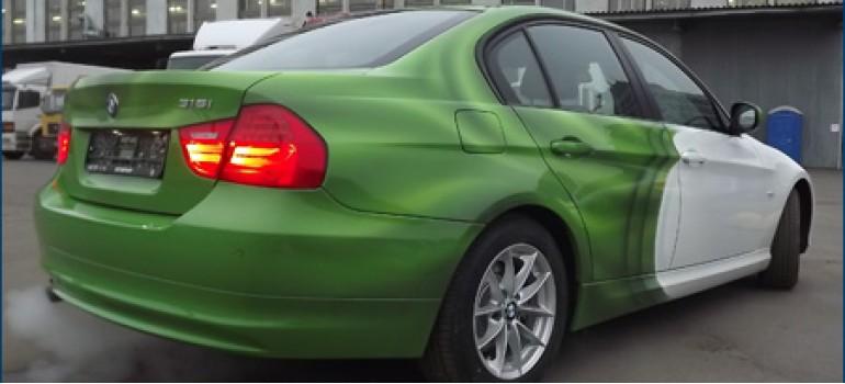 Изготовление промо-автомобиля для Туборга на базе БМВ Е90