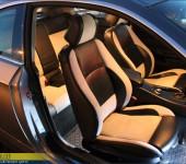 Перетяжка в алькантару и кожу салона БМВ ( BMW ) E92