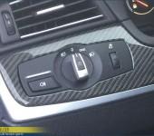 Покрытие настоящим 100% карбоном элементов салона в БМВ ( BMW ) F10 M5