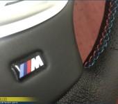 Перетяжка руля на БМВ (BMW) 5 серии в кузове F10 с М-очным швом