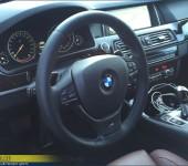 Перетяжка руля с ///М-очной строчкой на БМВ (BMW) F10