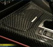 Покрытие настоящим 100% карбоном элементов салона в БМВ ( BMW ) F13