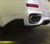 Установка спойлера M-Performance на задний бампер БМВ (BMW) X5 F15