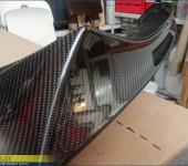 Ремонт карбонового спойлера М Перформанс (M Performance) на переднем бампере БМВ (BMW) X5 F15