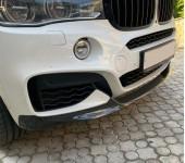 """Ремонт карбоновой """"губы"""" (спойлера переднего бампера) М Перформанс на БМВ (BMW) X6 F16"""