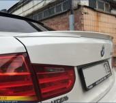 Спойлер M Performance на багажник BMW F30