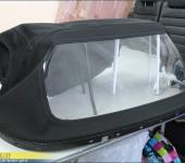 Ремонт кабриолетного верха, замена мягкого стекла в кабриолете BMW Z3