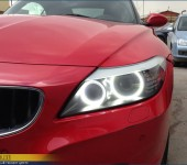 Установка Ангельских Глазок ( Angel Eyes ) SMD в фары BMW Z4