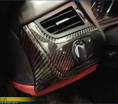 Продолжение тюнинга БМВ ( BMW ) Z4 - отделка настоящим 100% карбоном деталей салона