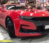 Установка красных ремней безопасности и автозапуска двигателя на Шевроле Камаро (Chevrolet Camaro)