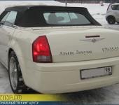 Ремонт механизма кабриолета Chrysler 300C